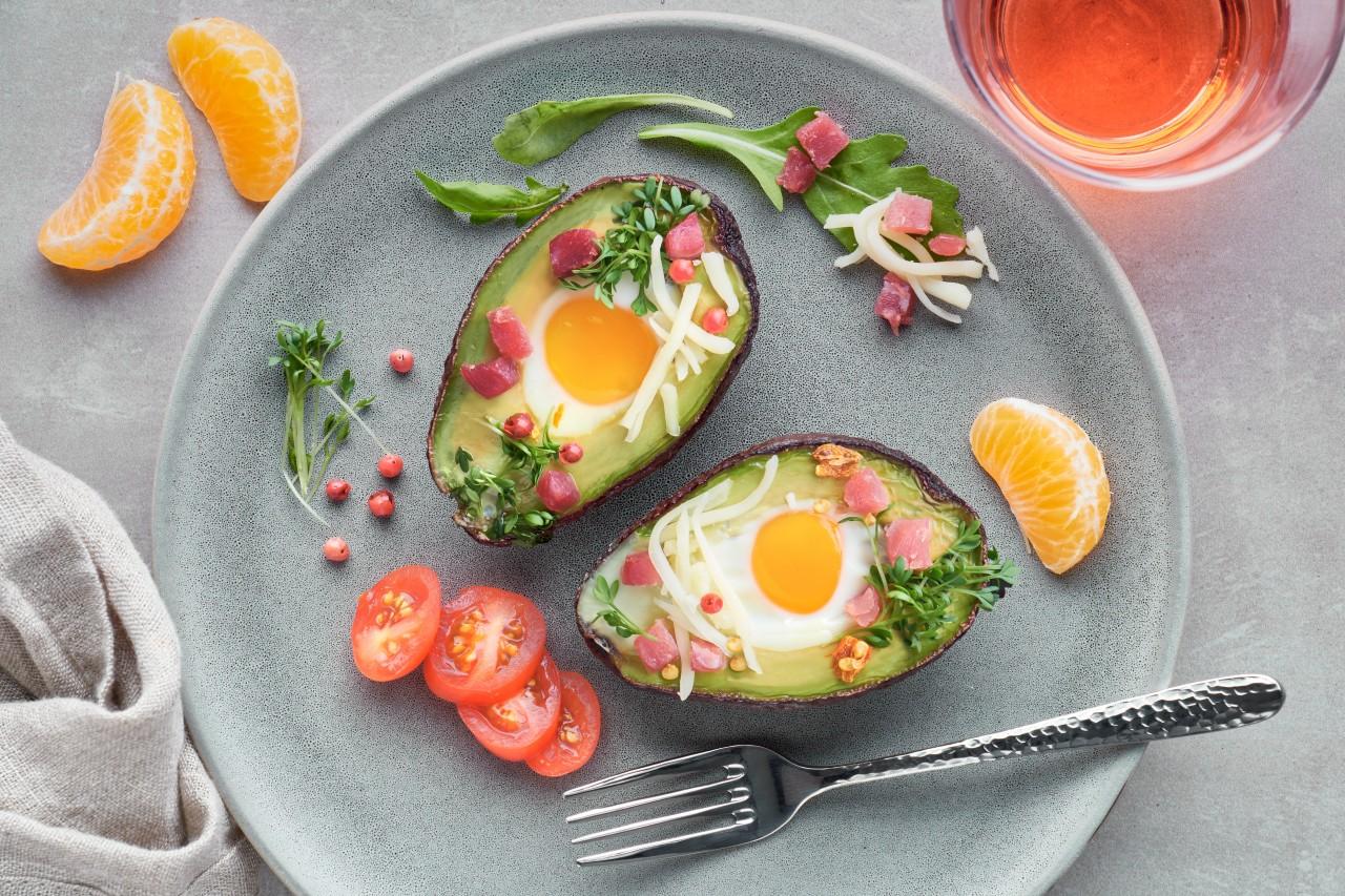 Jajka w awokado
